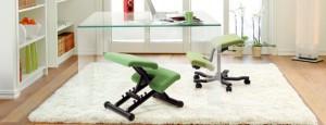 green Kneeling Chairs