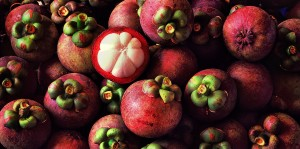 organic mangosteens