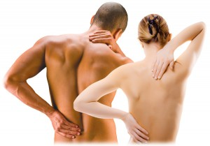 couple having Back Pain