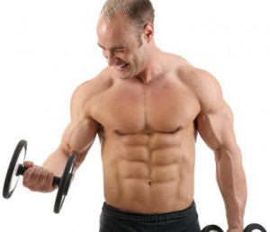 man doing muscle Exercise