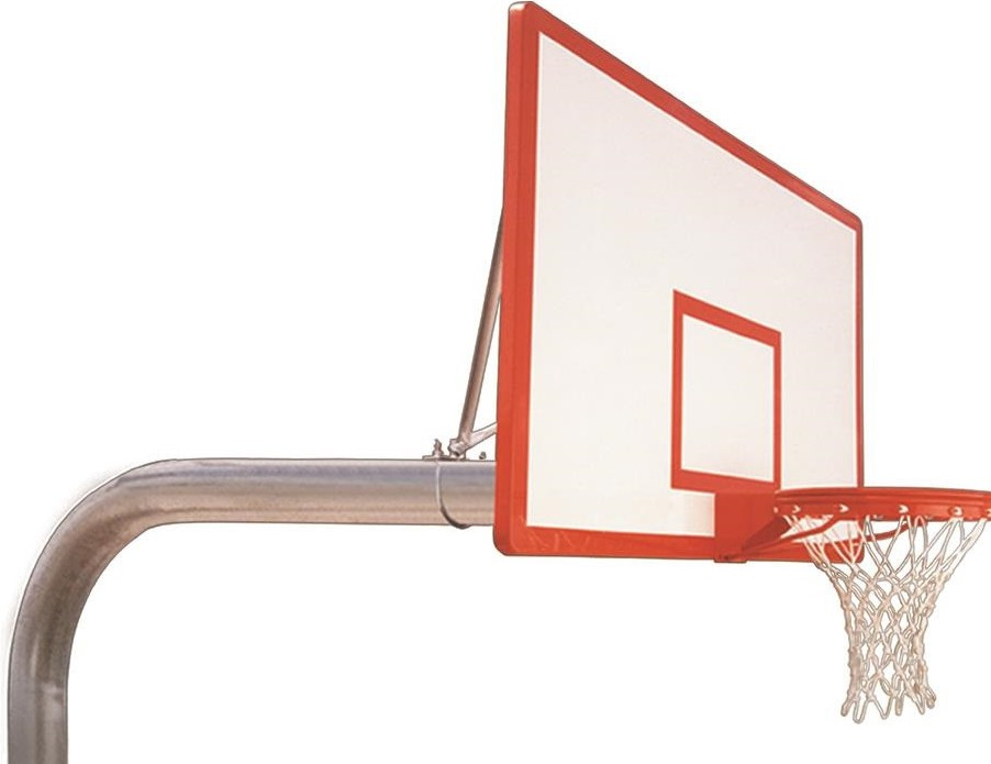 red basket ball hoop